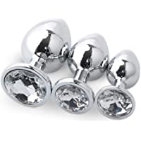 3pcs Hot Sale Spreader Stainless Steel Metal Jewel Plated for Beginner Friend(White)