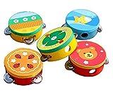 Wide.ling Bunte Cartoon Biene Glöckchen Tamburin Klatschen Trommel Kinder Spielzeug