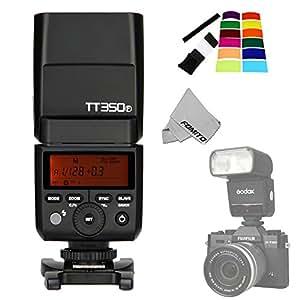 Fomito Godox Tt350F 2,4G HSS 1/8000s High Speed TTL Mini Thinklite Gn36sans fil Speedlite Flash Light pour appareil photo numérique Fuji X-pro2X-t20X-t2X-T1X-Pro1X-T10X-E1X-a3X100F X100T