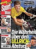 Sport Bild 32 2018 Jan Ullrich Zeitschrift Magazin Einzelheft Heft Fussball Bundesliga