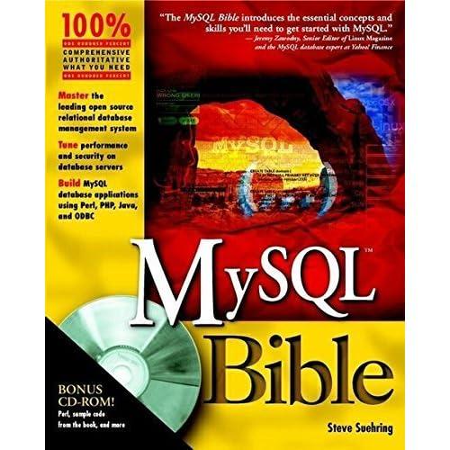 MySQL Bible by Steve Suehring (2002-07-05)