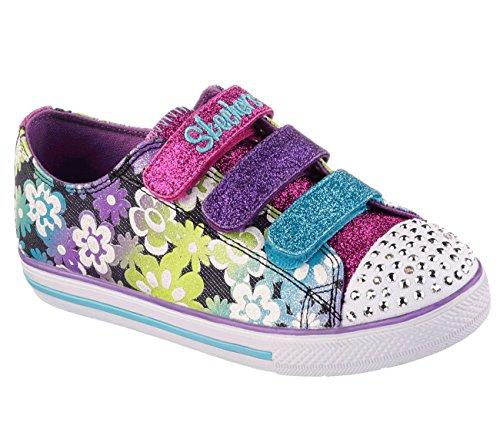 nbsp;glint Mehrfarbig Mädchen amp; Skechers Chat Gleam Sneakers Chit gw0U76