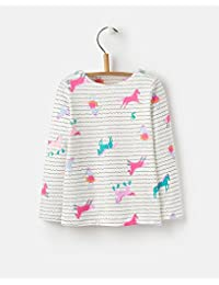 Joules Long Sleeve Jersey Top - Cream Sea Pony Stripe