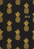 Golden Pineapples Kalenderbuch A6 - Kalender 2019