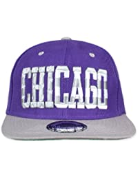 Original Snapback (one size, Chicago Stars Lila) + Original MY CHICOS Sticker