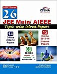 """26 JEE Main/AIEEE Topic-wise Solved Papers (14 Offline + 12 Online) - NCERT Format Topic-wise Solved Papers are the most important resources must for every student for 3 reasons: They show what types of questions have been asked in the actual exam -..."