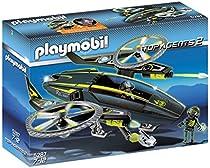 Playmobil - 5287 - Jeu de Construction - Navette d'attaque des Mega Masters