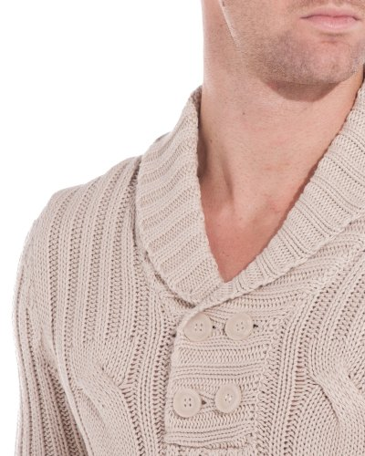 BLZ jeans - Pull torsade beige Beige