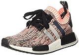adidas Damen NMD_r1 Primeknit Sneaker Low Hals, Mehrfarbig (Core Black/Clear Onix/Sun Glow S16), 38 EU