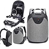 Owme Anti Theft Backpack Waterproof 15.6 Inch Laptop Bag USB Charging Port 30