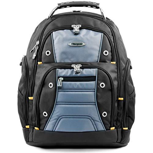Targus TSB238EU Drifter - 32-Liter-Rucksack, perfekt für Arbeit, Studium und Gaming, für Laptops mit Bildschirmdiagonalen von bis zu 15,6Zoll - schwarz/grau