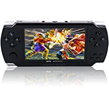 ZHCKJ Portable 4.3 Inch Handheld Game Console 8GB Memory Support Mp4 Mp5 Player Video Retro Games Built In Sega Tetris NES Games