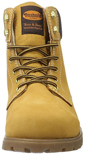 Dockers by Gerli Herren 35ve001-300910 Combat Boots Gelb (GOLDEN Tan 910)