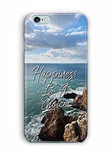 YuBingo Happiness is a Choice Designer Mobile Case Back Cover for Apple iPhone 6S