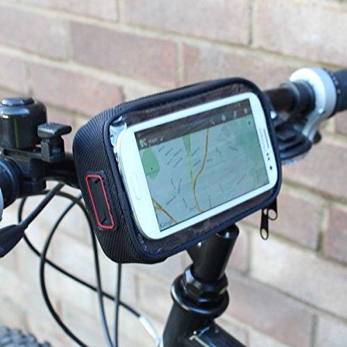 Wasserfester Handy-/Navihalterfür Lenkstangen von Fahrrad/Motorrad
