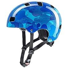 Uvex Unisex-Youth KID 3 BLUE CAMO 55-58 Cycle Helmet
