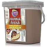Harina de avena - 2Kg - Sabor Dulce de leche