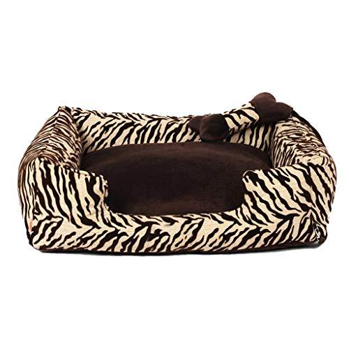 Soft Zebra Pet Nest Four Seasons Universal Extraíble