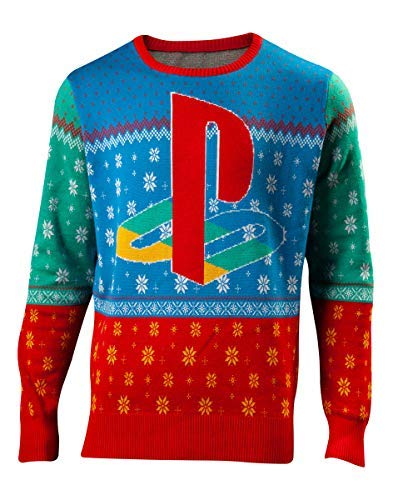 Playstation - Tokyo Knitted Christmas Sweater Top (XL)