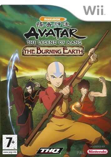 Avatar: The Legend Of Aang - The Burning Earth (wii)