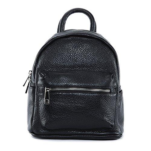 OH MY BAG Sac à Dos en cuir femme - Modèle Kyoto (petit modèle) - Soldes