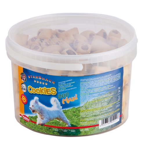 """Nobby 69920 StarSnack Cookies """"Duo Maxi"""" Eimer 1,3 kg"""