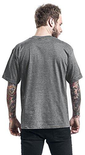 Donald Duck Angry T-Shirt Grau Meliert Grau Meliert
