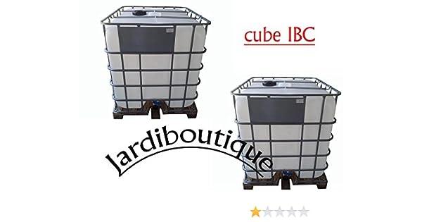 Jardiboutique Deux Cuves Ibc 1000l Pour Réserve Deau