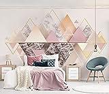 Papier Peint Mural Poster Géant 3D Geometric Patterns Enfant Chambre Garcon Fille...