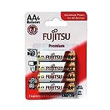 Fujitsu Alkaline Premium Batterien LR6/AA 4er Blister