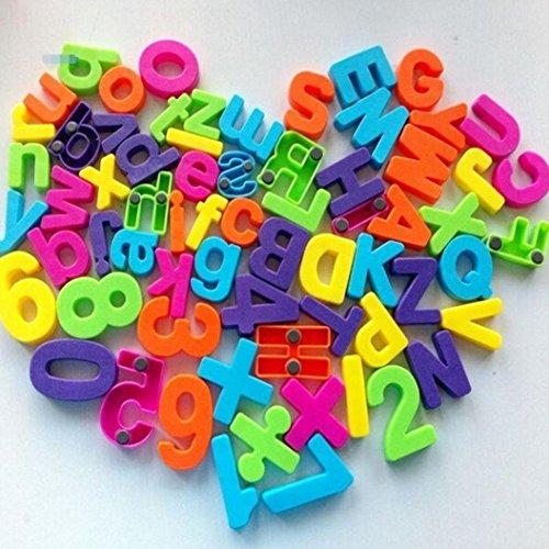 STRIR 26 Interesante refrigerador alfanumérico refrigerador imán, hacer la vida más interesante, dejar que los niños se enamoran de aprender