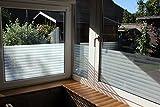 7,23€/m² Fensterfolie Sonnenschutz Wintergarten UV Sichtschutzfolie Spiegelfolie gemusterte Deko Folie (Fensterbreitex Fensterhöhe 1m x 76cm Boreal)