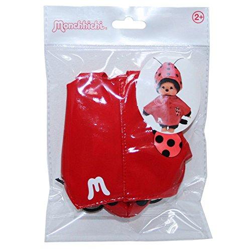 (Monchhichi - Auswahl Boutique Fashion - Puppenkleidung Mode Kleidung, Style:Regencape Marienkäfer)