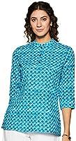 Amazon Brand - Myx Women's Cotton Straight Kurti