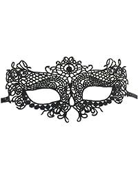 Smile YKK Masque de Chat Femme Dentelle Mascarade Mask Party Soirée Bal Danse