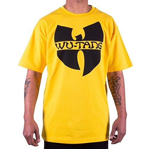 Wu Wear - Wu Tang Clan - Wu-Tang Clan Logo T-Shirt - Wu-Tang Clan Size S, Color Yellow
