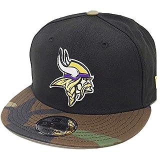 New Era 9Fifty Snapback Cap - Minnesota Vikings Schwarz Camo