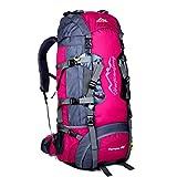 Fulltime® New 80L Mehrzweckwasserdichte Sport Tactical Camping Wandern Rucksack Wasserdichte Oxford Gepäck-Rucksack-Beutel, 80cm x 38cm x 25cm, 1800g