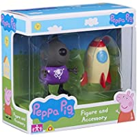 Peppa Pig Figura e accessori Danny Dog & Rocket Set - Aula Garden Set