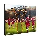 Upic Offizielles LFC Merchandise personalisierbar Hi Gloss Panel–24x 16