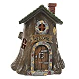 Fairy Light Up Fairy House Fairy für Gärten – Welcome Baumstumpf