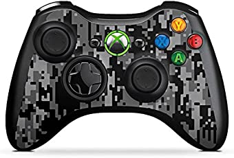 DeinDesign Microsoft Xbox 360 Controller Folie Skin Sticker aus Vinyl-Folie Aufkleber Pixel Camouflage Tarnmuster