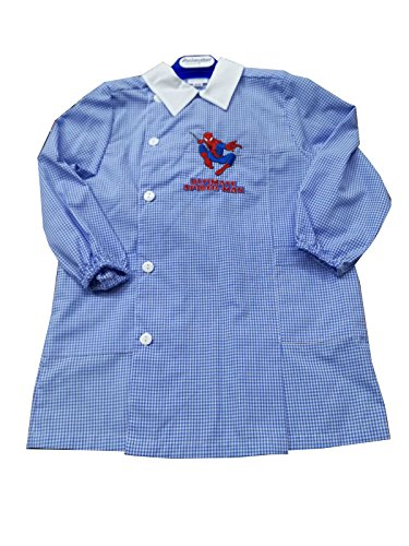Grembiule asilo marvel spider-man per bambino scuola materna (art. s942018) (45 - 2 anni)