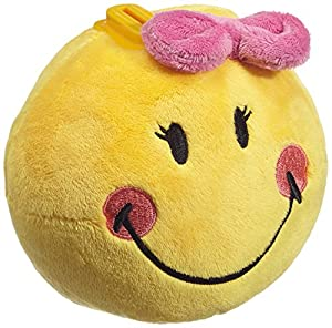 NICI 36739 - Hucha Sonriente Felpa con Lazo Alrededor