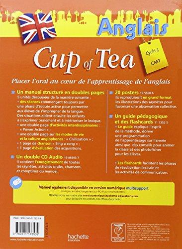 Anglais Cycle 3-CM1 Cup of Tea : Livre de l'élève