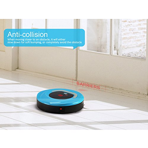 Robotic Vacuum Cleaner 1D (Blue-C)