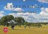 Extremadura - Unbekanntes Spanien (Wandkalender 2018 DIN A3 quer): Die Extremadura, das Herkunftsland der spanischen Konquistadoren, verzaubert Sie ... Orte) [Kalender] [Apr 01, 2017] LianeM, k.A - k.A. LianeM