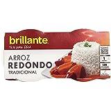 Brillante Arroz Redondo 125G X 2 - [Pack De 8] - Total 2 Kg