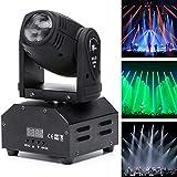 Bohne Moving Head Bühnenlichtstrahl-Licht, LED-Scheinwerfer RGBW 10W 11 / 13CH...