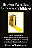 Broken Families, Splintered Children: poetic perspectives from surviving the devastation of divorce, the roads to recove